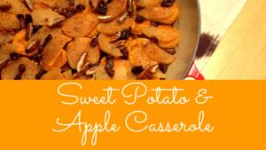 recipe sweet potato