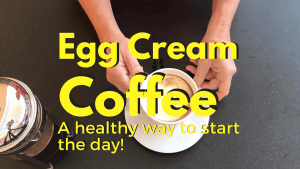 Egg Creme Coffee