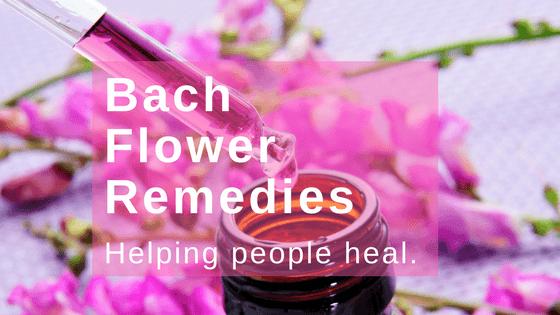 Bach flowers healing